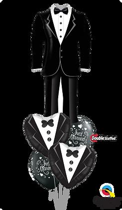 "Ballons MASTER""Handsome Groom Suit"""
