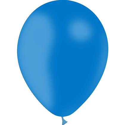 """Ballon Latex Bleu Roi, 11"""" (28 cm) - Balloonia"""