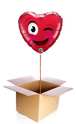 Ballon Emoji Coeur