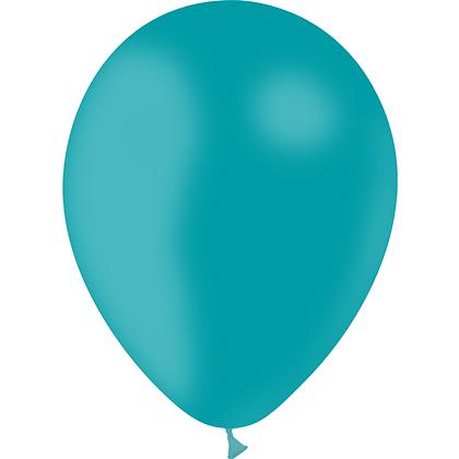 "Ballon Latex Turquoise, 11"" (28 cm) - Balloonia"