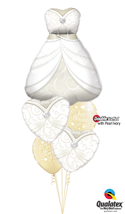 "Ballons MASTER""Beautiful Bridal Gown"""