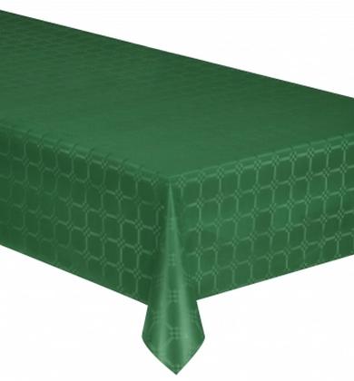 Nappe en rouleau papier damassé vert émeraude  6 mètres