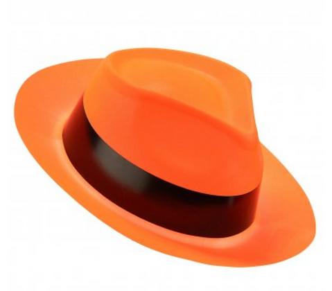 Chapeau Orange Fluo