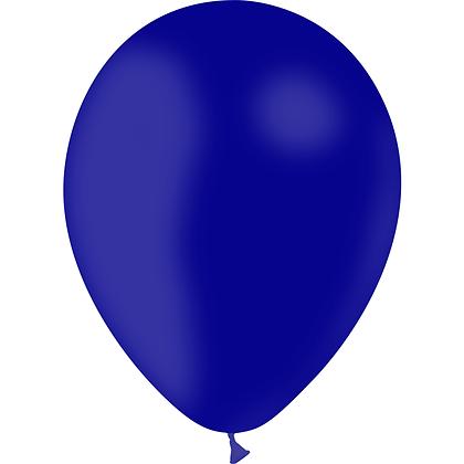 """Ballon Latex Bleu Marine, 11"""" (28 cm) - Balloonia"""