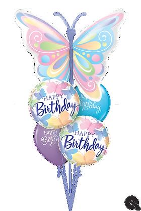 "Ballons MASTER ""Papillons Bday"""