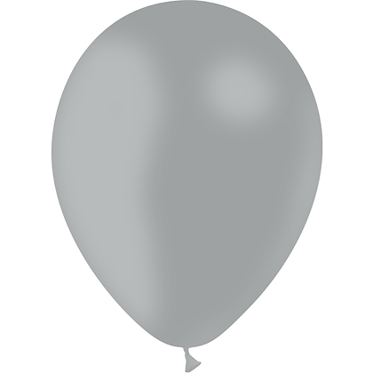 "Ballon Latex Gris, 11"" (28 cm) - Balloonia"