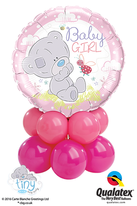 "Ballons MINI ""Baby Tiny Tatty Teddy"" Girl"