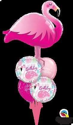 """Ballons MASTER """"Flamingo Bday"""""""