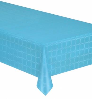Nappe en rouleau papier damassé bleu 6 mètres