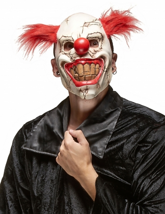 Masque clown méchant adulte