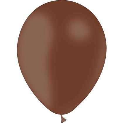 "Ballon Latex Chocolat, 11"" (28 cm) - Balloonia"