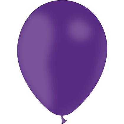 """Ballon Latex Violet, 11"""" (28 cm) - Balloonia"""