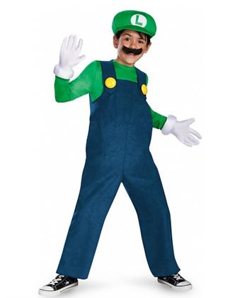 Déguisement Luigi™ Deluxe Enfant