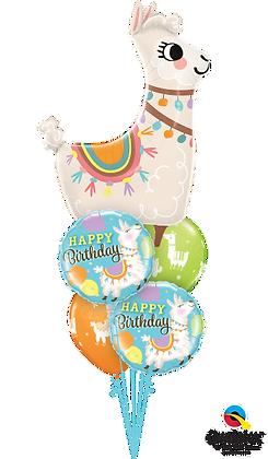 "Ballons MASTER ""Loveable Llama Bday"""