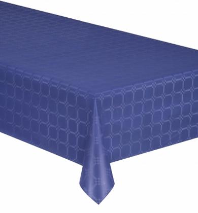 Nappe en rouleau papier damassé bleu marine6 mètres