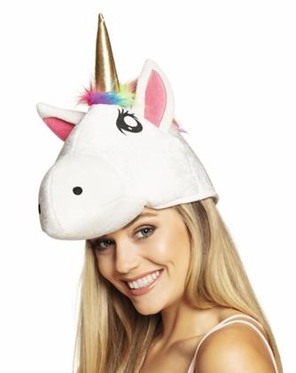 Chapeau tête de licorne adulte