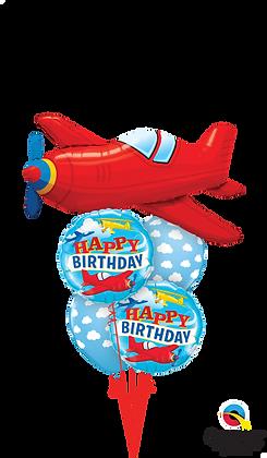"Ballons MASTER ""Airplane Bday"""