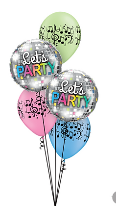 "Ballons CLASSIC ""Lets Party"""