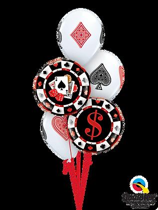 """Ballons CLASSIC """"Casino - Faites vos Jeux!"""""""