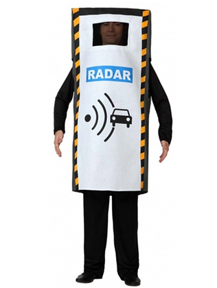 Déguisement radar adulte