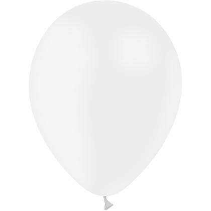 "Ballon Latex Blanc, 11"" (28 cm) - Balloonia"