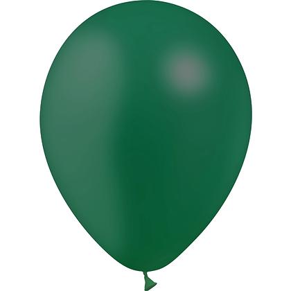"""Ballon Latex Vert Forêt, 11"""" (28 cm) - Balloonia"""