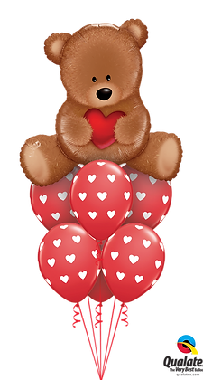 "Ballons LUXURY ""Teddy Love"""