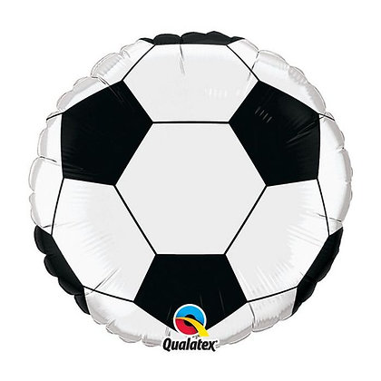 Ballon Aluminium 18″ Football – Soccer Ball – Qualatex