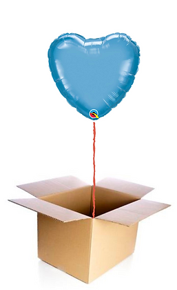 Ballon Coeur Bleu