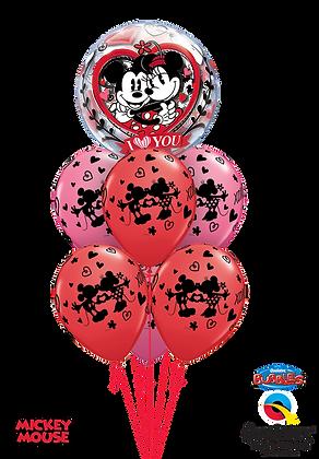 "Ballons LUXURY ""Love Mickey Minnie"""