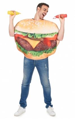 Déguisement de burger adulte