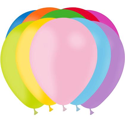 """Ballon Latex Assortis, 11"""" (28 cm) - Balloonia"""