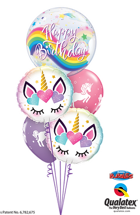 "Ballons MASTER ""Licorne Bday"""