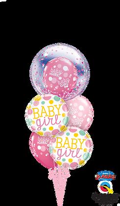 Ballons MASTER Baby Girl Bulle
