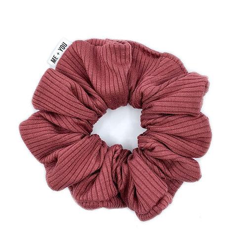 Premium Scrunchie - Knit Rose Wood (Wholesale)