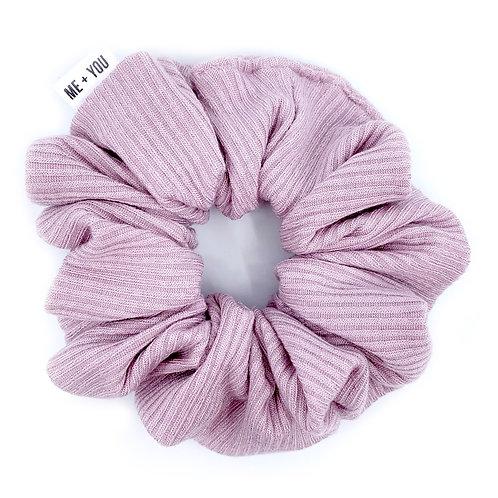 Premium Scrunchie - Knit Pink Lemonade