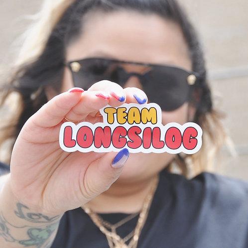 Team Longsilog Sticker