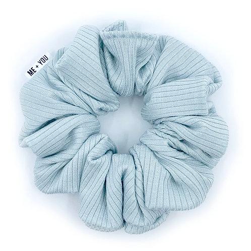 Premium Scrunchie - Knit Sea Foam (Wholesale)