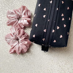 Scrunchies & Make Up Bag