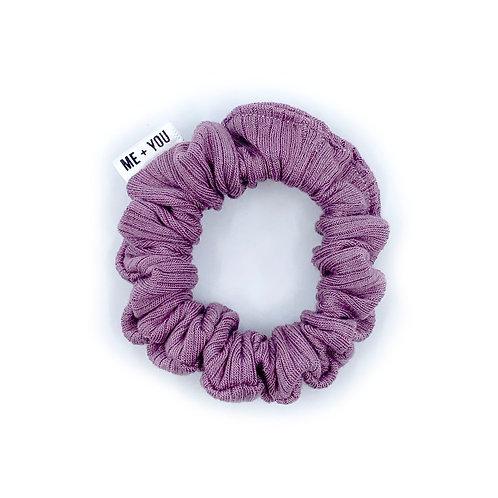 Mini Scrunchie - Knit Orchid
