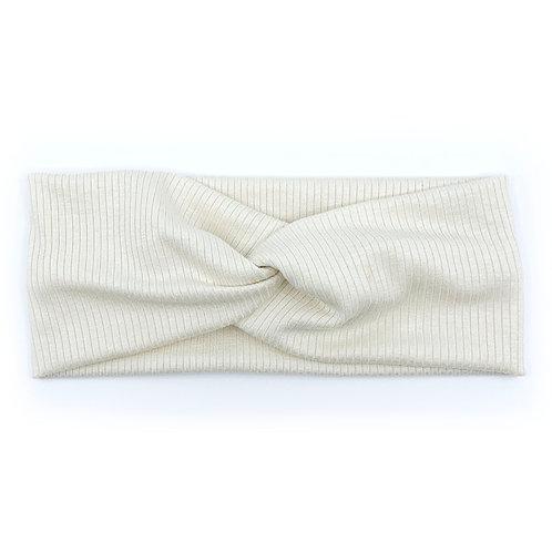 Porcelain Twisty Headband (Wholesale)