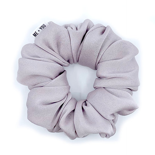 Premium Scrunchie - Satin Lilac (Wholesale)