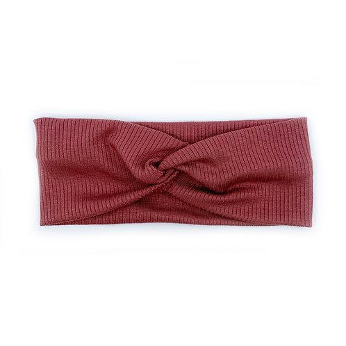 Rose Wood Twisty Headband (Wholesale)