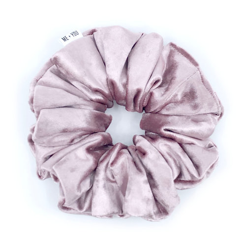 Premium Scrunchie - Butter Crushed Velvet Candy Pink (Wholesale)