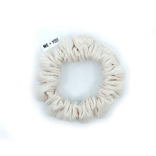 Mini Scrunchie - Knit Porcelain