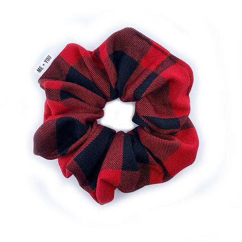 Premium Scrunchie - Buffalo Plaid