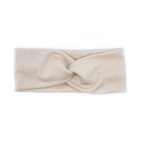 Ivory Twisty Headband (Wholesale)