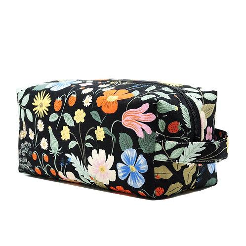 Butterfly Fields Black - Large Box Bag