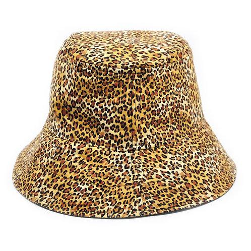 Bucket Hat - Leopard/Black