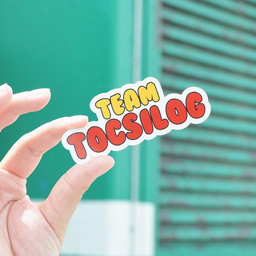 Team Tocsilog Sticker